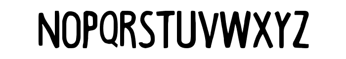Black Coffee-Regular Font LOWERCASE