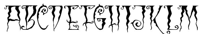 Black Cow Font UPPERCASE