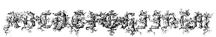 Black Forest Font UPPERCASE