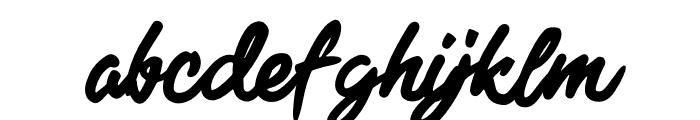 Black Freeday Font LOWERCASE