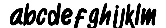 Black Kids Font LOWERCASE