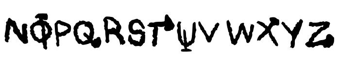 Black Magic * Regular Font UPPERCASE