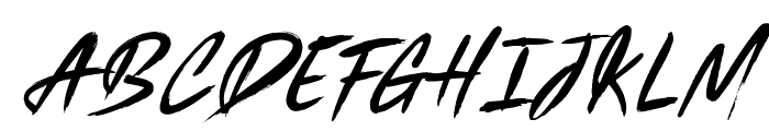 Black Marble Font UPPERCASE