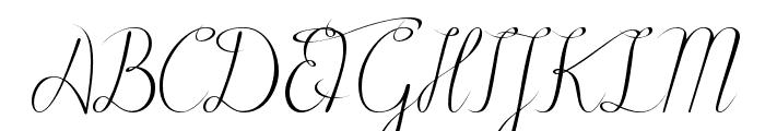 Black Olives Font UPPERCASE