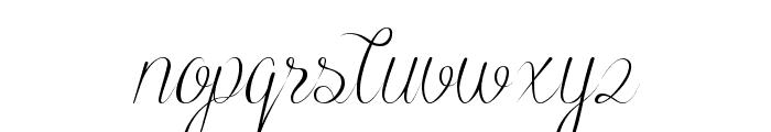 Black Olives Font LOWERCASE