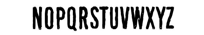 Black Owl Font UPPERCASE