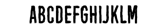Black Owl Font LOWERCASE