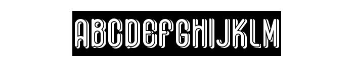 Black Roties Font LOWERCASE