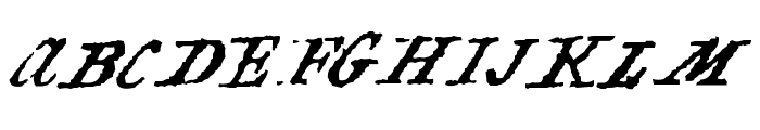 Black Sam's Gold Font UPPERCASE