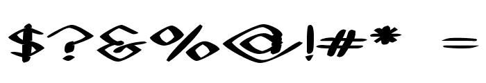 Black Sheaf Font OTHER CHARS