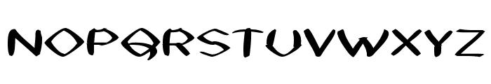 Black Sheaf Font UPPERCASE