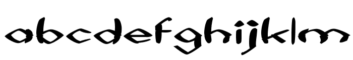 Black Sheaf Font LOWERCASE