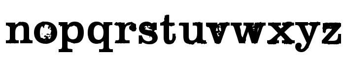 Black Widow Font LOWERCASE