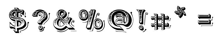 BlackAngel Font OTHER CHARS