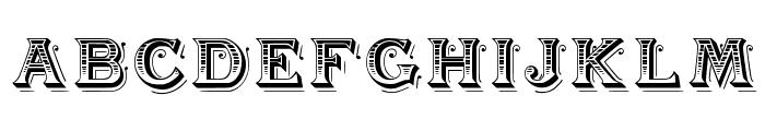 BlackAngel Font UPPERCASE
