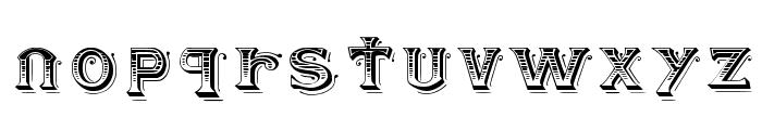 BlackAngel Font LOWERCASE