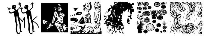 BlackArt Font OTHER CHARS
