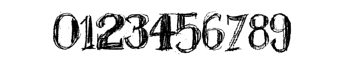 BlackBoard Font OTHER CHARS
