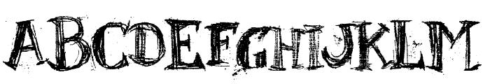 BlackBoard Font LOWERCASE