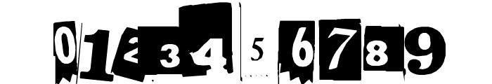 BlackCasper Font OTHER CHARS