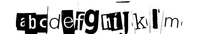 BlackCasper Font LOWERCASE