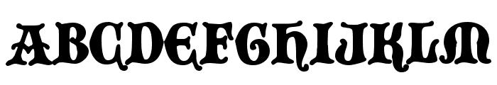 BlackCastleMF Font UPPERCASE