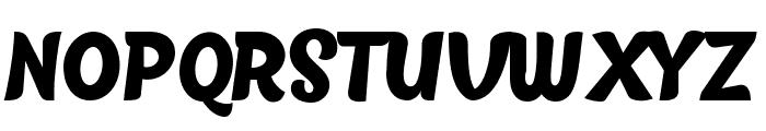 BlackFat Font UPPERCASE