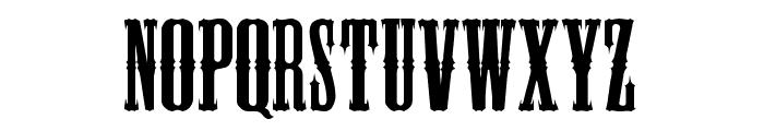 BlackHawk Font UPPERCASE