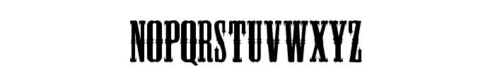 BlackHawk Font LOWERCASE