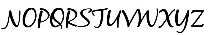 BlackJackRegular Font UPPERCASE