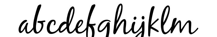 BlackJackRegular Font LOWERCASE