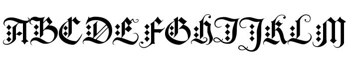BlackKnightFLF Font UPPERCASE
