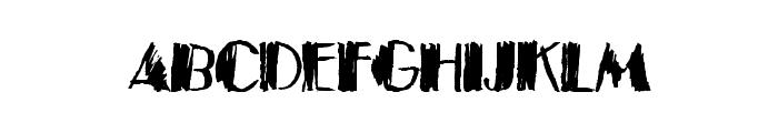BlackTies Font UPPERCASE
