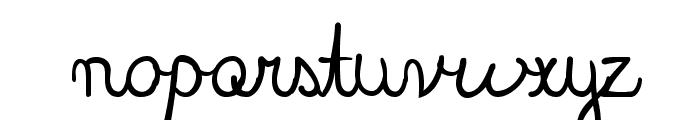 BlackboardUltra Font LOWERCASE
