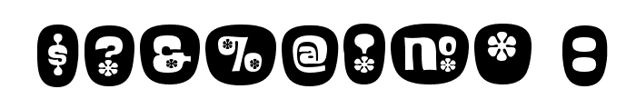 BlackcurrantCameo Font OTHER CHARS