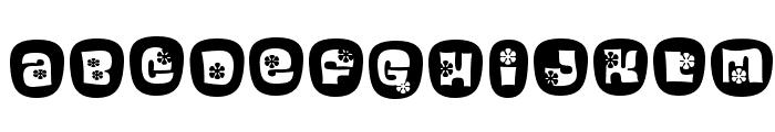 BlackcurrantCameo Font UPPERCASE