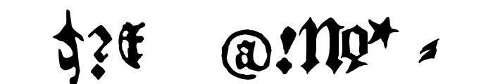 BlackletterHPLHS Font OTHER CHARS