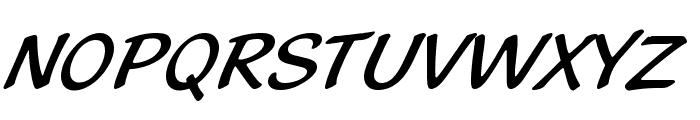 BlacklightD Font UPPERCASE