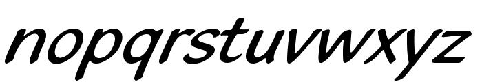 BlacklightD Font LOWERCASE