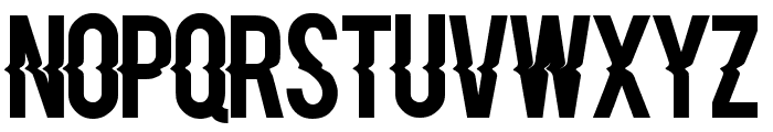 Blacklisted Font LOWERCASE