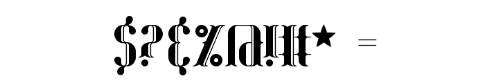 Blackoninaut Redux BRK Font OTHER CHARS