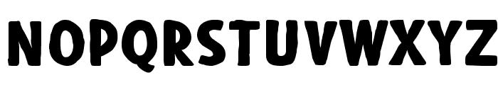Blackore Font UPPERCASE