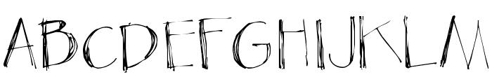 Blackout Sans Px Font UPPERCASE
