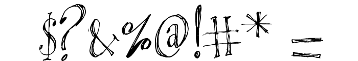 Blackout Serif Px Font OTHER CHARS