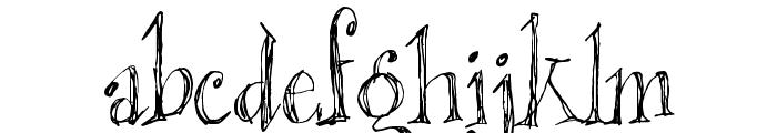 Blackout Serif Px Font LOWERCASE
