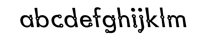Blacksmith Delight Lefty Font LOWERCASE