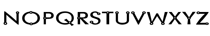 Blacksmith Delight SemiWide Font UPPERCASE