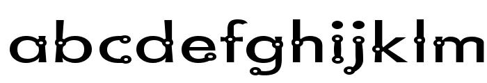Blacksmith Delight SemiWide Font LOWERCASE