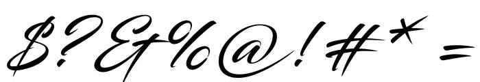 Blacksword Font OTHER CHARS