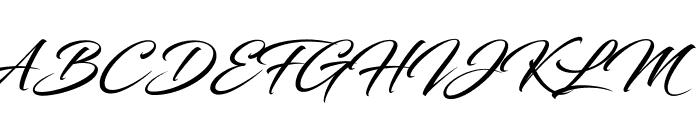 Blacksword Font UPPERCASE